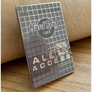 PIN - HARD ROCK CAFE ALL ACCESS - wpinka
