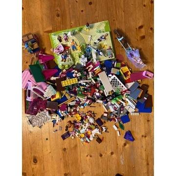 Klocki LEGO , różne zestawy , 3 kg , plandeka