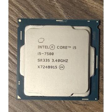 Procesor Intel Core i5-7500 4 x 3.4 GHZ 6 MB
