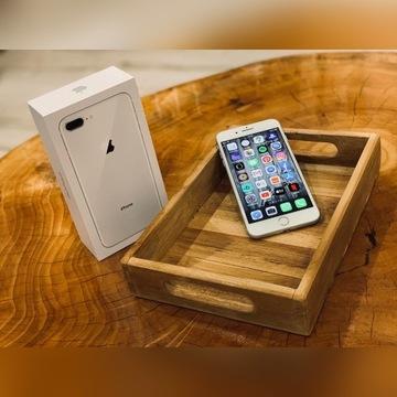 APPLE iPhone 8 Plus + 64GB Srebrny Silver iOS IDEA