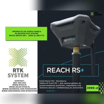 EMLID REACH RS+ odbiornik gnss