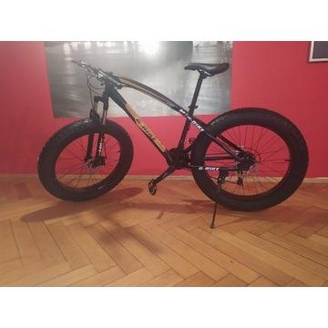 Rower fat bike fatbike grubas szerokie opony