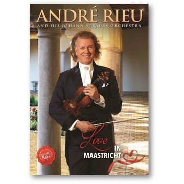 Andre Rieu: Love In Maastricht [DVD] Nowa w folii