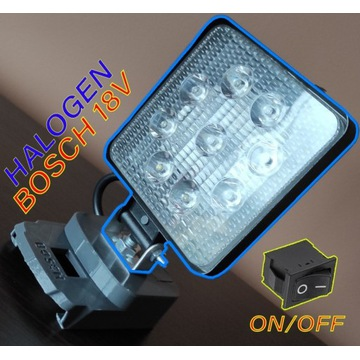 Lampa do akumulatora Bosch 18V