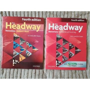 New Headway Fourth edition Elementary SB i WB