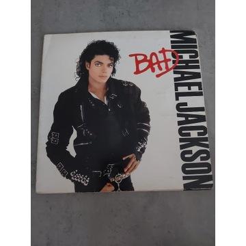 Michael Jackson - Bad  LP 1987 VG+  EPC 450290 1