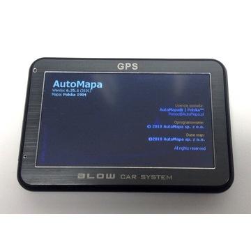 GPS nawigacja Auto Mapa