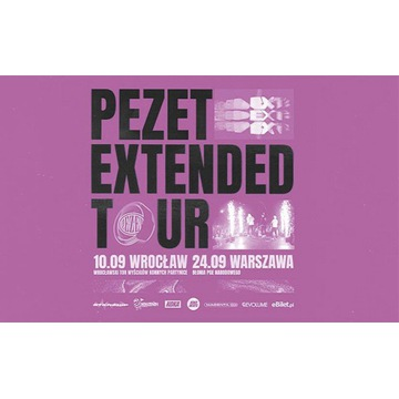 Bilet Pezet Extended Tour - Wrocław 10.09.2021
