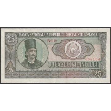 Rumunia 25 lei 1966 - B.0110 - T. Vladimirescu