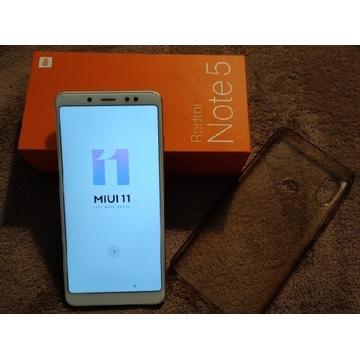 Xiaomi Redmi Note 5 złoty bcm