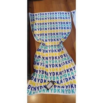 DKNY luksusowy duży ręcznik plażowy 91cm / 173cm