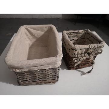 2 koszyczki do przechowywania