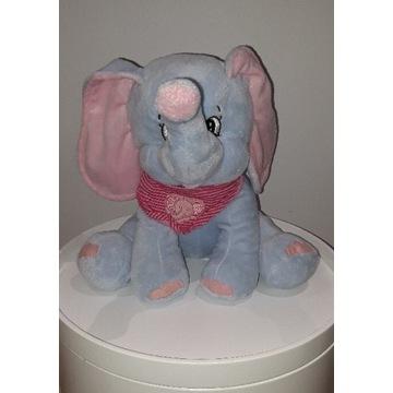 Pluszowy słonik