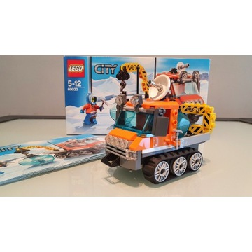Lego City 60033 - Arktyczny Łazik lodowy