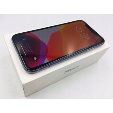 Iphone 11 64gb Purple Świetny Stan Fioletowy