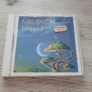 MEDITATION - SAMPLER 2 CD