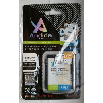 BATERIA NOKIA BP-4L producent ANDIDA