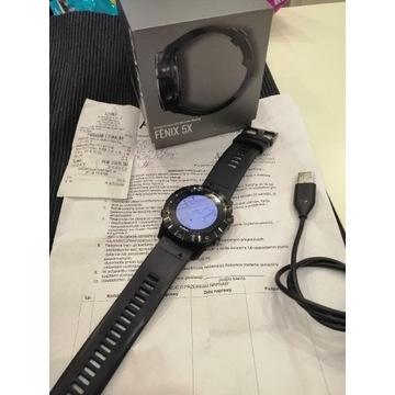Garmin Fenix 5x Sapphire Mapy GPS -27 mc Gwar.
