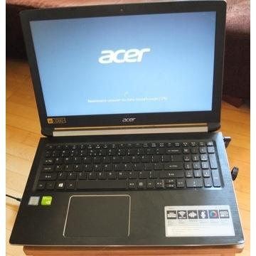 """LAPTOP ACER ASPIRE I5-7200U 8GB HDD 1TB 15,6"""" FHD"""