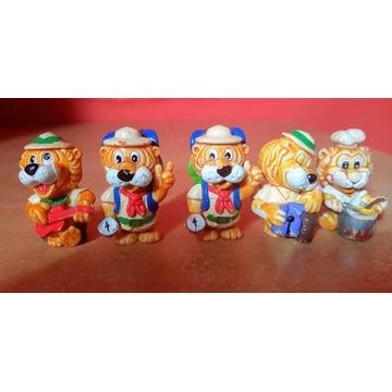 Figurki Kinder Niespodzianka różne z lat 90
