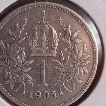 1korona 1904 bardzo rzadka