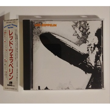 CD Led Zeppelin - I Japan OBI