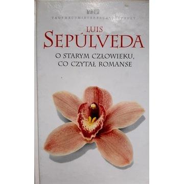 O starym człowieku co czytał romanse Luis Sepulved