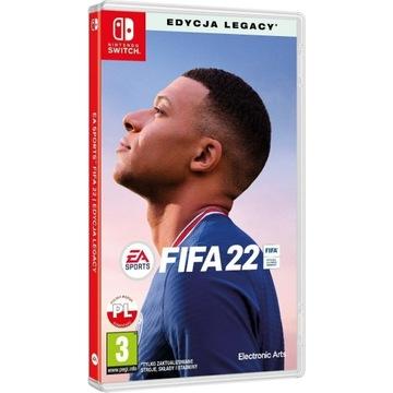 FIFA 22 Gra NINTENDO SWITCH PL Preorder Legacy