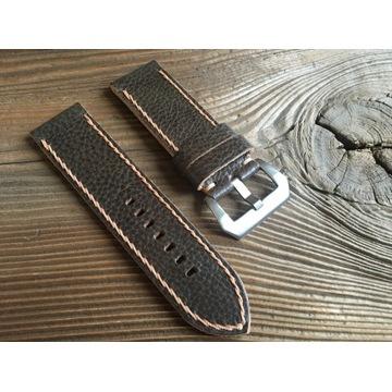 Pasek do zegarka Panerai handmade oliwkowy 26 mm