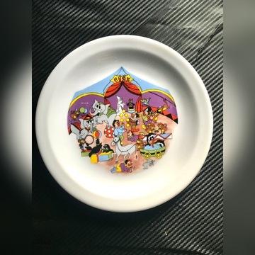 Talerz talerzyk deserowy kolekcjonerski