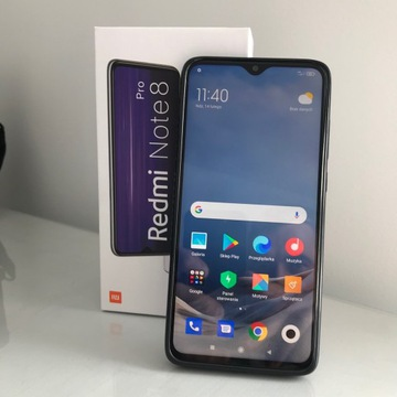 Xiaomi Redmi Note 8 Pro 6 GB /128 GB szary