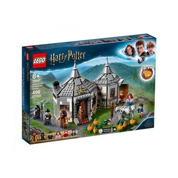 LEGO HARRY POTTER Chatka Hagrida 75947 Nowy