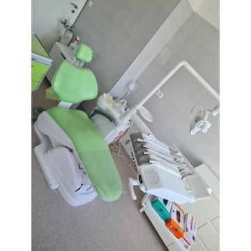 UNIT stomatologiczny fotel ze spluwaczką ssakiem