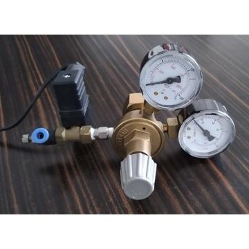 Regulator CO2, elektrozawór do butlina na gaz BCM