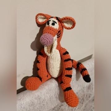 handmade szydełko  Tygrysek