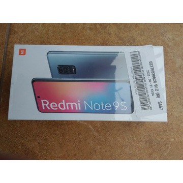 Xiaomi Redmi Note 9 S kupiony w kraju 23m gwarancj