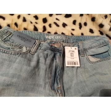 Spodnie nowe damskie M/L (38)