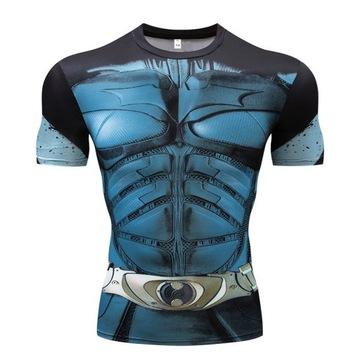 T-shirt koszulka 3d xl 2stronna superbohater xl