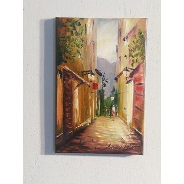Obraz olejny sudak-art 30x20cm