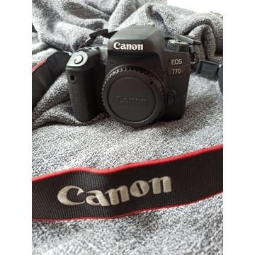 Lustrzanka Canon EOS 77D (body) W ŚWIETNYM STANIE