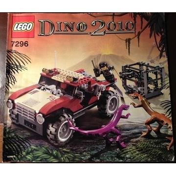 Lego dinozaury 7296- jak nowy. Unikat