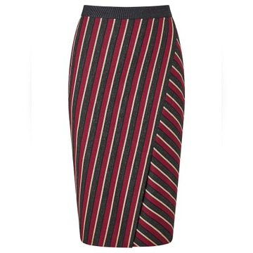WEEKEND MAX MARA virgin wool spódnica 100%ORYG 38
