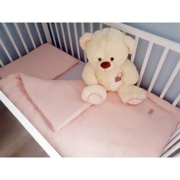 Muślinowa pościel niemowlęca z wypełnieniem 75x100