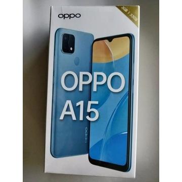 OPPO A15 2/32GB CPH2185 BLACK - nowy zafoliowany