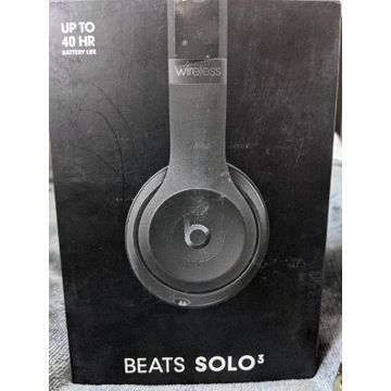 Słuchawki czarne Beats 3