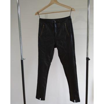 Honey Punch  S spodnie w stylu motocyklowym HIT