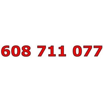 608 711 077 T-MOBILE ŁATWY ZŁOTY NUMER STARTER