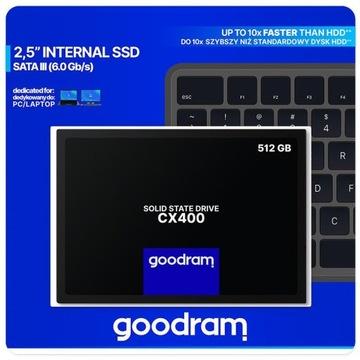 Dysk SSD GOODRAM CX400 512GB