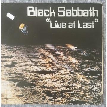 BLACK SABBATH LIVE AT LAST