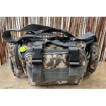 Taktyczna torba biodrowa, nerka MFH, pixel UCP